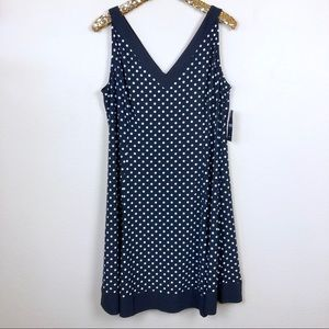 Chaps • Polka-Dot Fit & Flare Dress